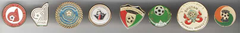 Football Federation of Kyrgyz Republic; FFKR; Казахстанын Футбол Федерациясы; Azerbaycan Futbol Federasiyalari Assosiasiyasi 1992; Kuwait F.A; XJFA; Bhutan Football Federation; India AIFF